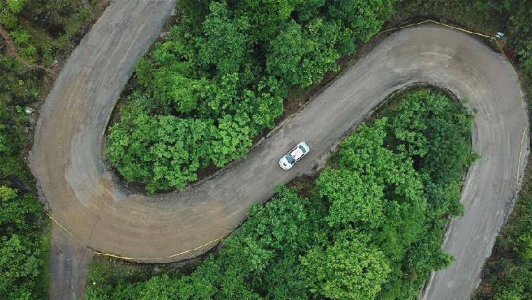 2018年中国汽车拉力锦标赛首站第二日赛况
