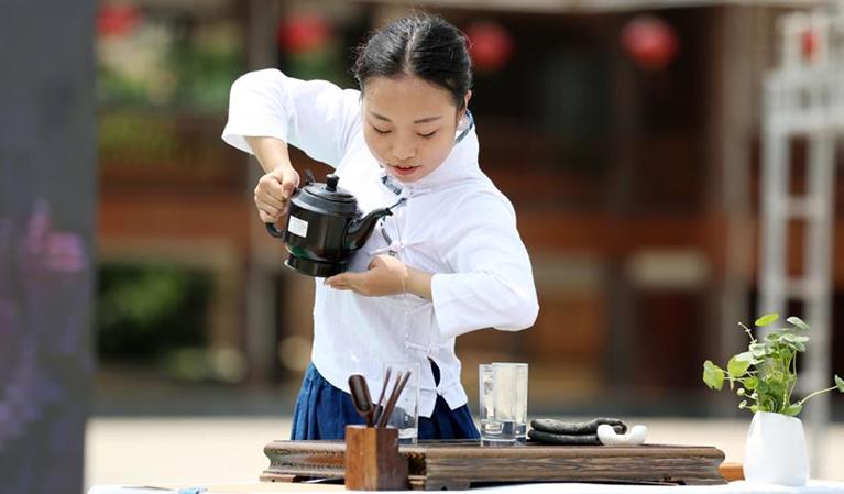 贵州黎平举行茶艺大赛