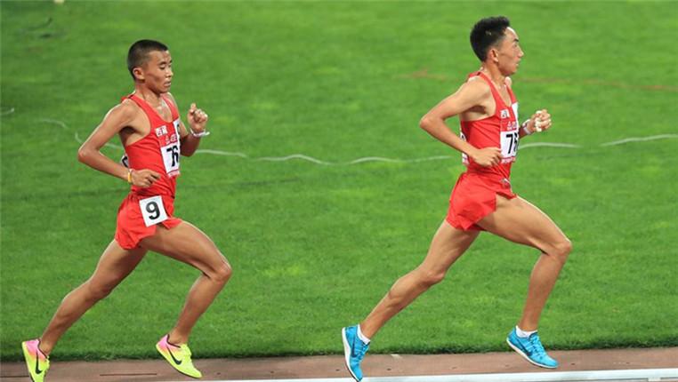 2018全国田径冠军赛:男子10000米赛况