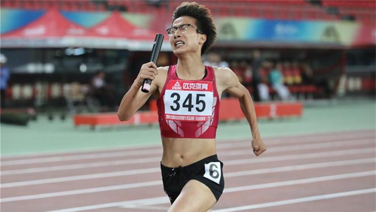 2018全国田径冠军赛:女子4×400米赛况