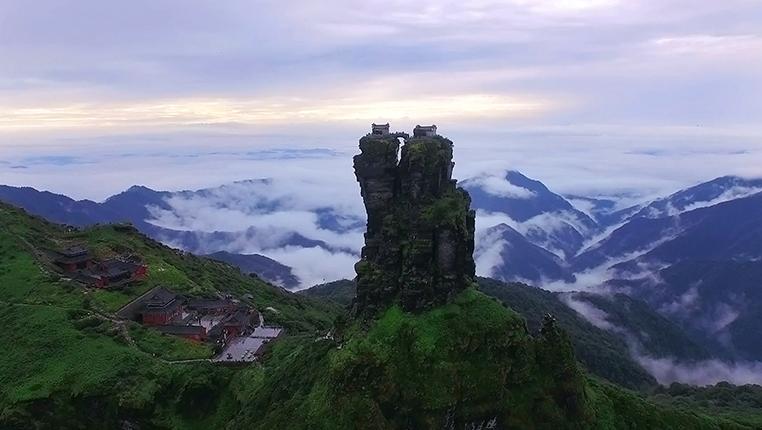 鸟瞰世界自然遗产地——贵州梵净山