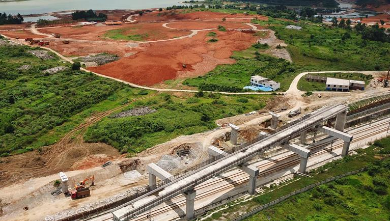 贵阳市域快铁西南环线建设进展顺利