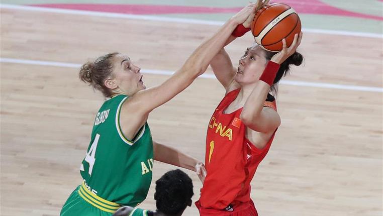 篮球——国际女篮锦标赛:中国不敌澳大利亚